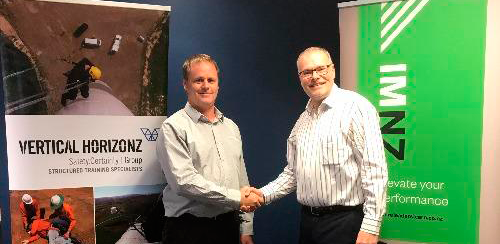 New partnership -Vertical Horizonz NZ and Institute of Management NZ